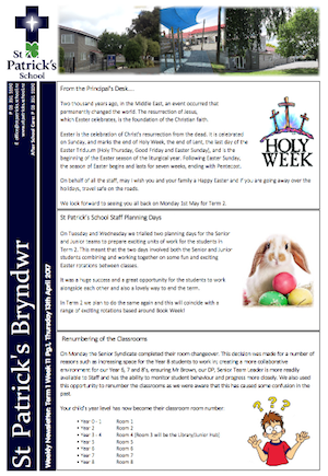 Term 1 Week 11 Newsletter