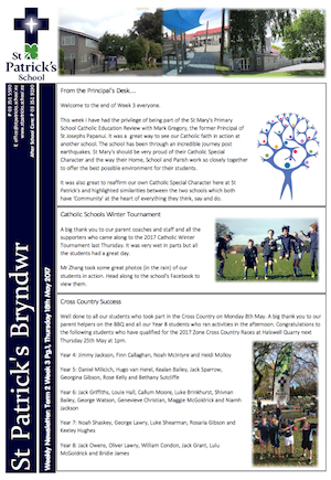 Term 2 Week 3 Newsletter