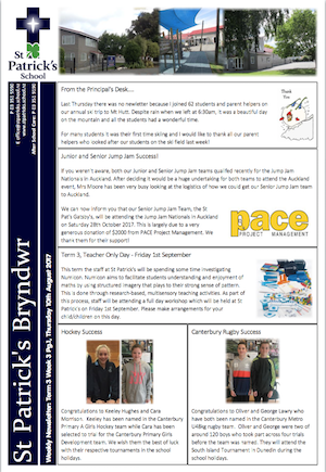 Term 3 Week 3 Newsletter