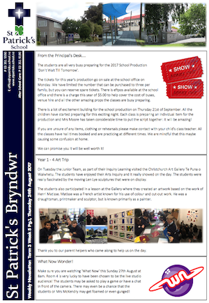 Term 3 Week 5 Newsletter