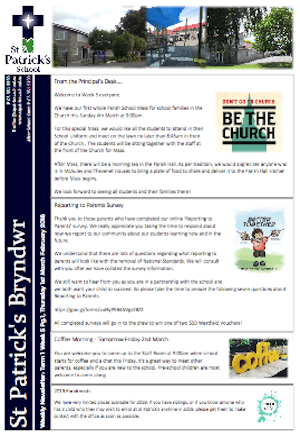 Term 1 Week 5 Newsletter