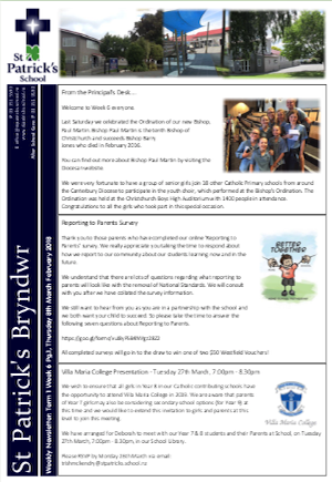 Term 1 Week 6 Newsletter