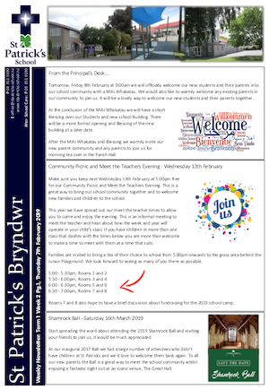 Term 1 Week 1 Newsletter
