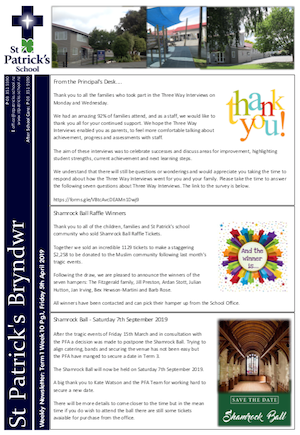 Term 1 Week 10 Newsletter