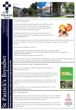 Term 2 Week 4 Newsletter