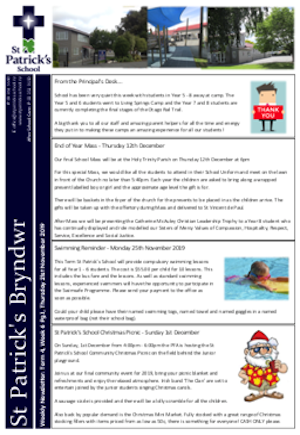 Term 4 Week 6 Newsletter