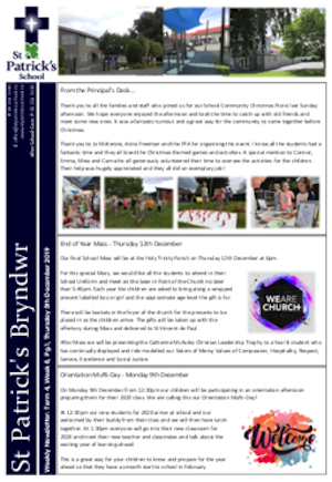 Term 4 Week 7 Newsletter